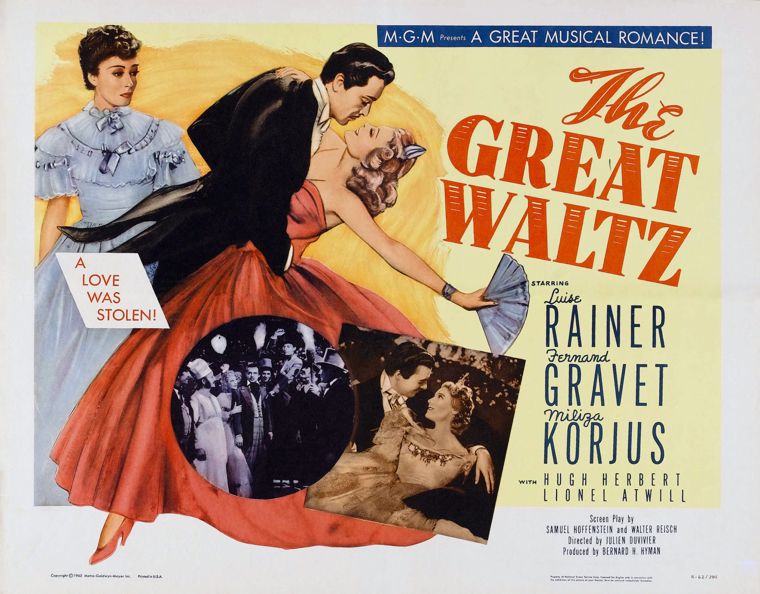 The Great Waltz (1938) – Johann Strauss II: La inspiración de la naturaleza