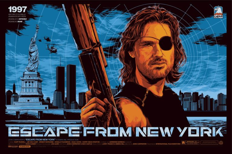 Escape from New York: tema principal por JOHN CARPENTER