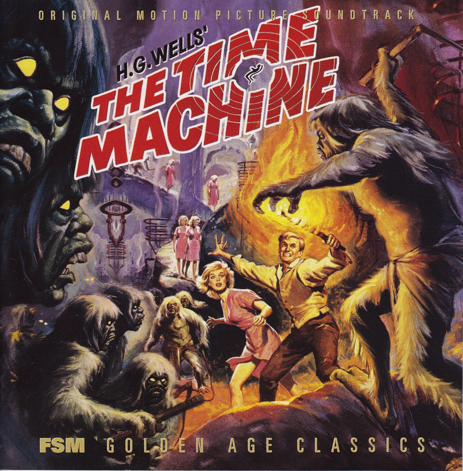 The Time Machine - Russell García - banda sonora - the Movie Scores