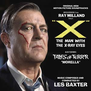 Les Baxter - Biografía - compositor - banda sonora - Man with the X Ray Eyes - The Movie Scores