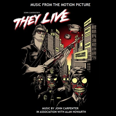 John Carpenter - biografía - compositor - banda sonora - They Live ​- The Movie Score