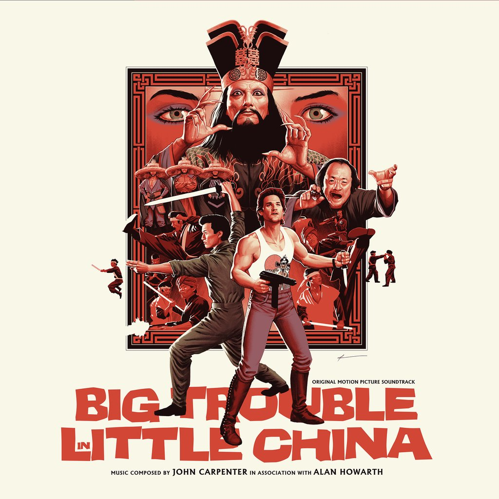 John Carpenter - biografía - compositor - banda sonora - Big Trouble in Little China - The Movie Scores