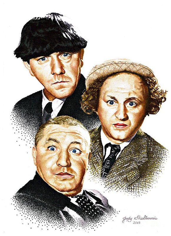 THE THREE STOOGES - Los 3 chiflados