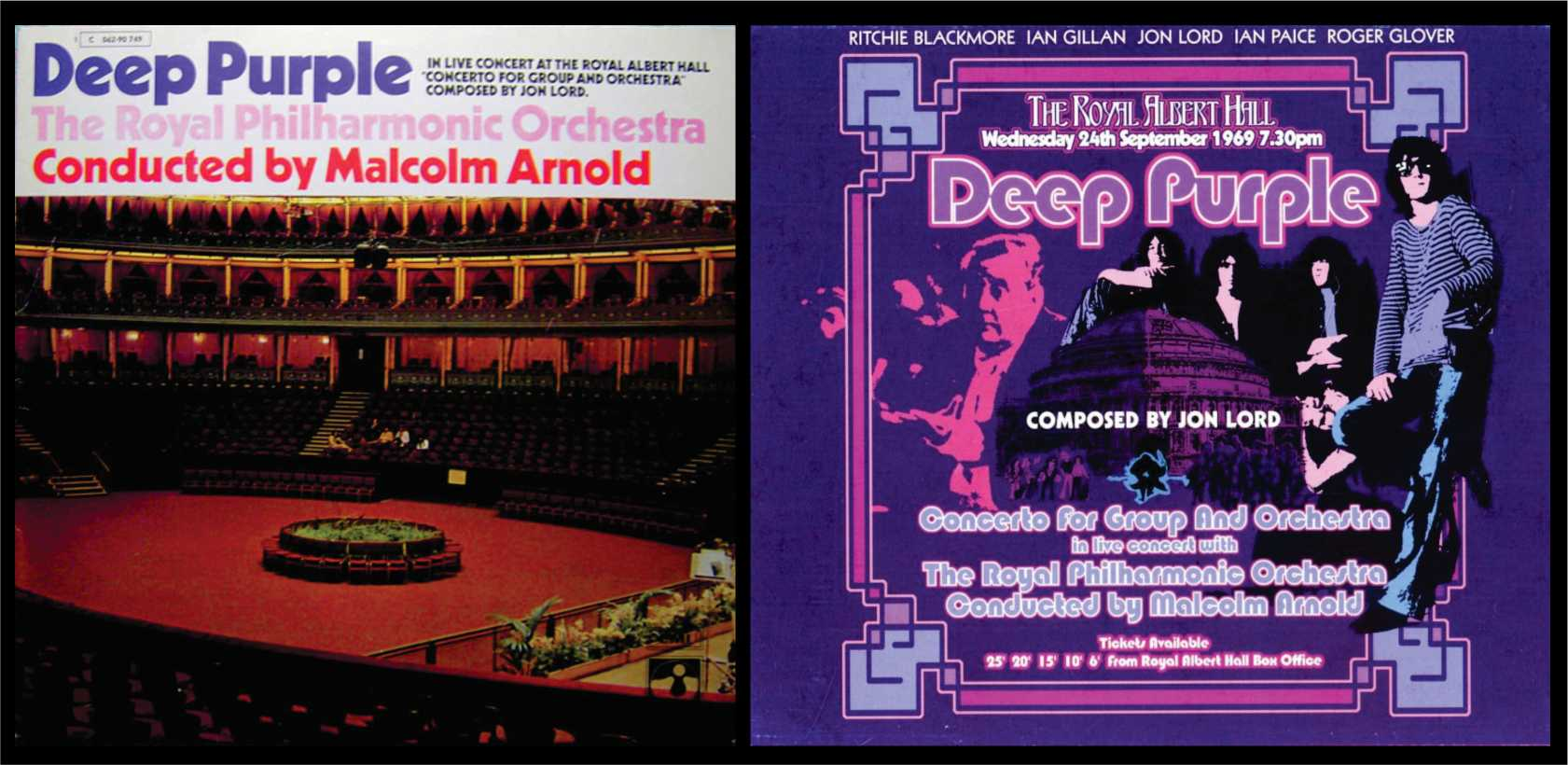 Deep Purple - Malcolm Arnold - Banda sonora - The Movie Scores
