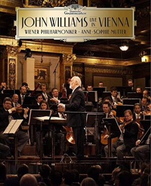 John Williams – Live in Vienna – Audio CD y Blu Ray