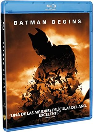 Batman Begins en Blu-ray – 2021