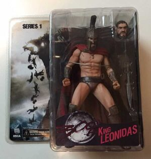 NECA 300 Series 1 King Leonidas Action Figure
