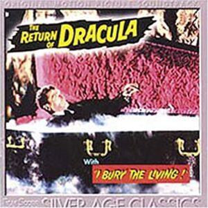 Return of Dracula 1957-1962 Soundtrack Gerald Fried Audio CD