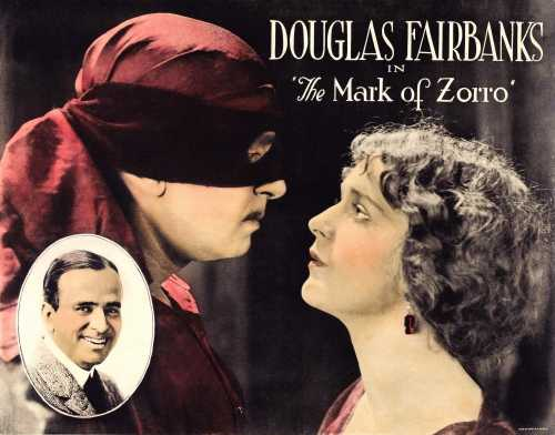 The Mark of Zorro - 1920 - Douglas Fairbanks - The Movie Scores