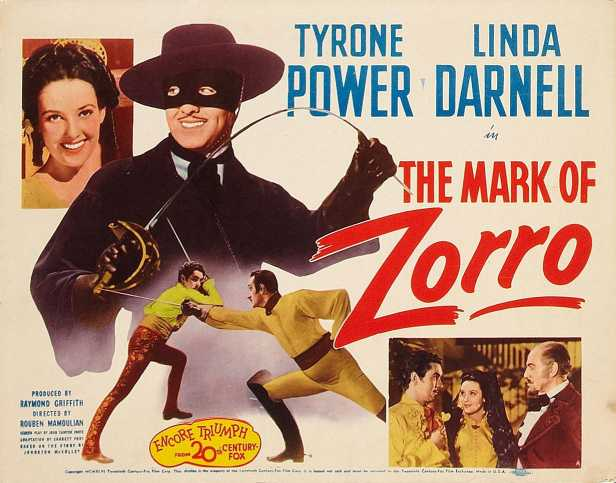 The Mark of Zorro - 1940 - Tyrone Power - Alfred Newman - banda sonora - The Movie Scores