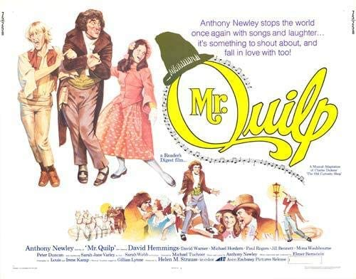 Anthony Newley - biografía - compositor - banda sonora - The Quilp - the Movie Scores